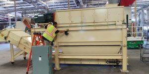 RIS Machines for Paper/Plastic Separation System