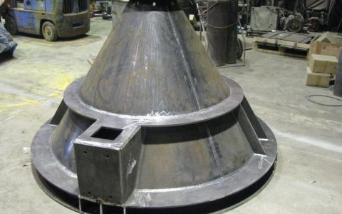 Activated Cone Bottom for the Flow of Material from Silo